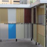 La hoja del revestimiento del cemento de la fibra, tarjeta de la fachada del cemento, ignifuga la tarjeta pintada del cemento de la fibra