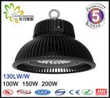 최신 판매 산업 정착물 IP65 150W UFO LED Highbay 빛, LED 산업 가벼운 창고를 사용하는