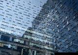 Projeto de sistema de vidro da parede de cortina da construção de aço