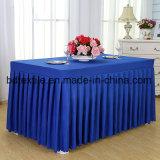 고품질 도매 호텔 /Wedding를 위한 100%년 폴리에스테 테이블 피복