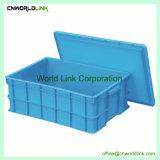 Attrayant et fourre-tout de stockage mobiles en plastique durable pour l'emballage