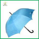 Aleación de aluminio popular de 23 pulgadas del panel del precio al por mayor 8 que hace publicidad del paraguas blanco del golf con las impresiones de la insignia