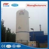 16bar de Cryogene Tank van Co2 van het Argon van de Stikstof van de vloeibare Zuurstof