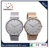 La montre d'acier inoxydable, montres de Dw pour les hommes, amincissent la montre (DC-294)