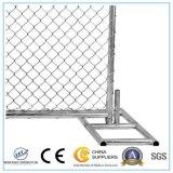 Хорошим гальванизированная ценой временно панель загородки звена цепи