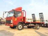 Do caminhão leve da base lisa de HOWO 4X2 venda quente