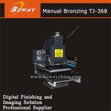 Пластмасса кож Boway бумажная цементирует машину Tjq-368c/Tjq-368d давления трудных резин PVC горячую