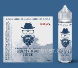 100% organisch und natürliche Bestandteile, die E-Flüssigkeit oder Eliquid oder E-Saft oder Ejuice oder Vaping Saft oder Vape Saft für e-Zigarette rauchen