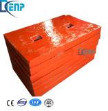 Heiße Qualitätsprallmühle-Kippplatte für Verkauf