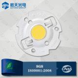 Petite zone lumineuse 2W COB LED blanc chaud de l'IRC80 140lm/W pour Spot à LED