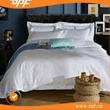 白い綿のサテンのホテルの羽毛布団カバー(DPFB8055)