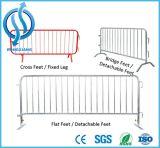 Frontière de sécurité amovible provisoire/panneaux résidentiels de glissière de sécurité en métal