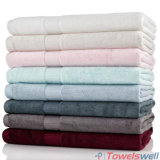 Розовый роскошь 100% бамбук банными полотенцами.