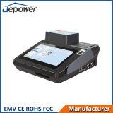 """7 """"接触パネルプリンターが付いているスマートなICのカード読取り装置POSの金銭登録機"""