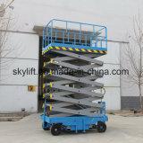 中国の製造者の油圧トラックは持ち上がるプラットホームの上昇を取付けた