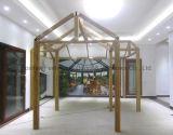 Sunroom de aluminio romántico del vidrio laminado del aislante de calor de la casa (parada total transitoria)