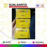 Kontaktlose Chipkarte mit Chip Ntag216