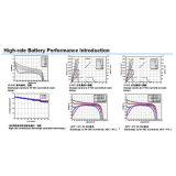 Bateria recarregável de Lipolymer do íon do lítio da taxa elevada