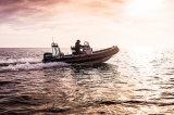 Aqualand 18feet 5.4mの肋骨のモーターボートまたはガラス繊維の堅く膨脹可能なレスキュー哨戒艇(rib540b)