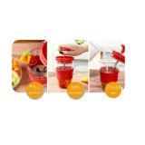 Frucht-rührendes Cup-manuell Saft-Cup-Milchshake-manuelles mischendes Cup