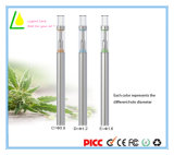 Antenne en céramique d'atomiseur jetable en verre E cigarette CBD THC Vaporisateur Pen