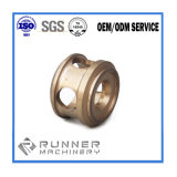 Parte di macinazione di giro di precisione dell'acciaio/alluminio/ferro dell'OEM con il tornio di CNC