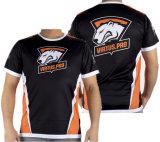 Jersey-T-Shirt Polyeste schnelles trocknendes Stück-Hemd 100%