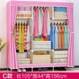 Современный простой шкаф домашних ткань складная тканью Уорд узел хранения размера кинг усилитель комбинацию простых шкаф (FW-58)