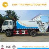 Dongfeng 4X2, 6m3 de comprimir el camión de basura