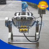 Misturador de cozinha de aço inoxidável a gás para alimentos