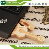 Movimentação de madeira da pena da movimentação do USB da movimentação do flash do USB da guitarra para Promation