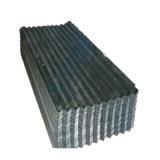 Z100 Hot trempé recouvert de zinc métal ondulé panneau de toiture