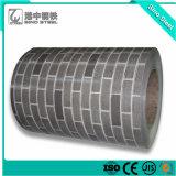 Strato d'acciaio ricoperto/galvanizzato dello zinco preverniciato tuffato caldo di colore di Ral del tetto