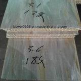 Le panneau de mur composé en plastique en bois d'intérieur le meilleur marché