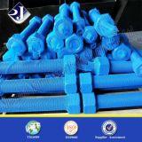 Sgs-Stift-Schraube mit blauer PTFE Beschichtung