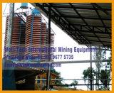 Separador da rampa espiral do minério do manganês