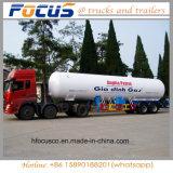 Lage Prijs 6 Aanhangwagen van de Vrachtwagen van de Olietanker van Compartimenten 45000L De Semi