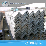 Acier galvanisé laminé à chaud structural de cornière d'IMMERSION chaude de construction