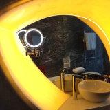 8,5 pouces lumineux à LED à montage mural miroir loupe 3X