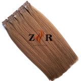 Band van het Haar van de Kleur van twee Toon de Natuurlijke Getrokken Chinese in de Uitbreiding van het Menselijke Haar
