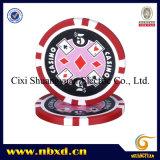 11.5g Poker Chip com adesivos personalizados (SY-D17F)