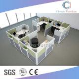 Grupo de quatro lugares populares combinação de móveis do compartimento do Office (CAS-W614)
