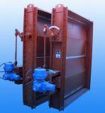 Valvola dell'ammortizzatore del gas di combustione
