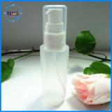 Weiße Kosmetik 60ml PET Pumpen-Lotion-Flaschen