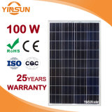 100W Poli Painel Solar Fotovoltaica para Sistema de Energia Solar