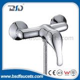 Soild Brass Misturador de banheira de parede Misturador de parede Torneira de chuveiro