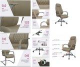 사무용 가구 편리한 디자인 조정가능한 요추 부목 PU 가죽 인간 환경 공학 사무실 의자