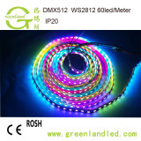 Оптовые цены на заводе Полноцветный RGB 12В постоянного токаWS2812b СВЕТОДИОДНЫЙ ИНДИКАТОР газас маркировкой CE RoHS утверждения
