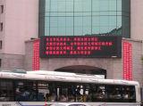 Écran rouge extérieur de l'Afficheur LED P10