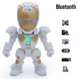 Altofalante Motivated de Bluetooth do robô mini com função sem fio